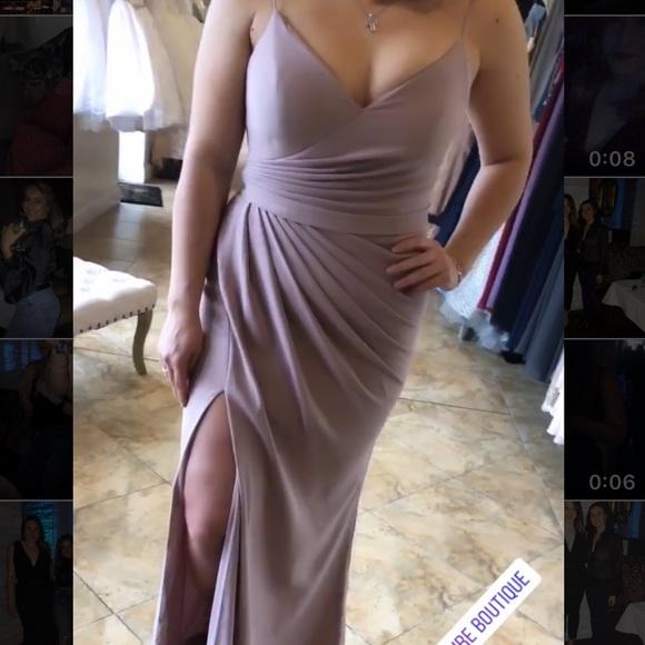 Portia & Scarlett Dresses & Skirts - Stephanie Gown Mauve by Portia and Scarlett